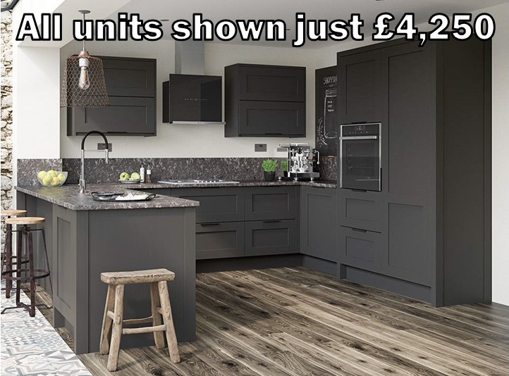 dark grey shaker kitchen 30.1