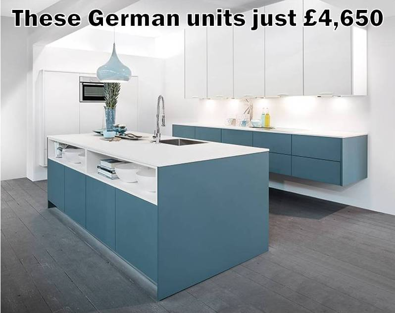 Top quality German kitchens at budget kitchen prices