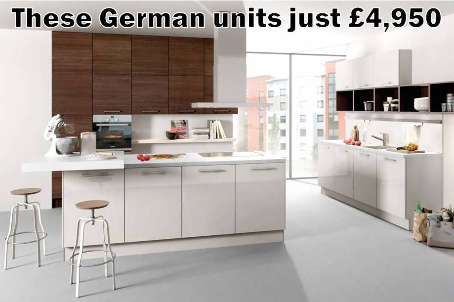 German Kitchens For Less Than Wickes, Magnet Or Wren
