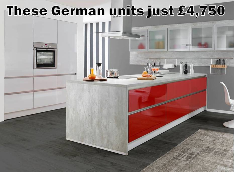 Designer German kitchens for a fraction more than Howdens, Wickes or Wren