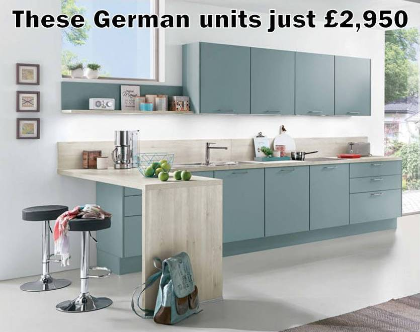 German Kitchen 750