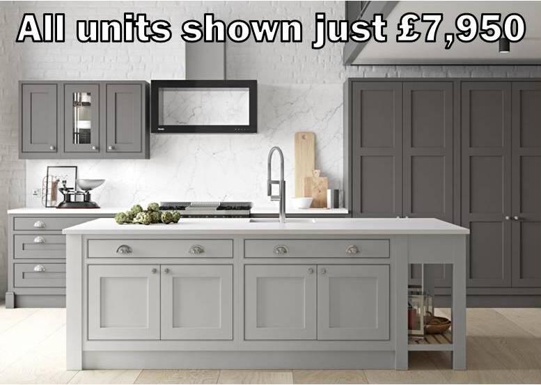 in frame shaker kitchen 3