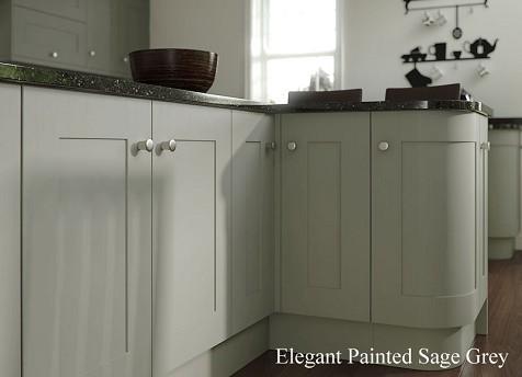 kitchen Cupboards Light Grey