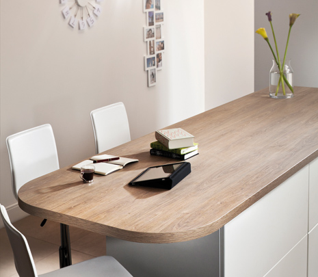 Prima Olympus Gloss Laminate Kitchen Worktop photo - 8