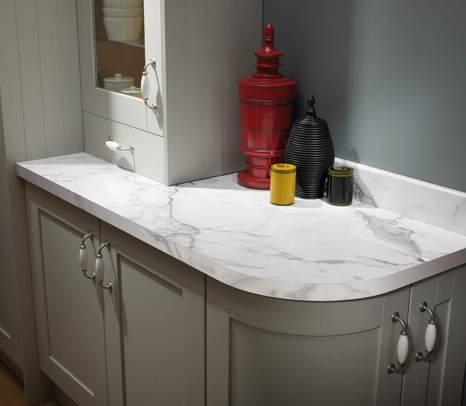 White Laminate Kitchen Worktops: The Pros & Cons Of Laminate Worktops