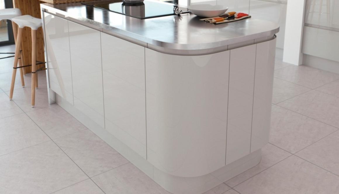 light grey gloss kitchen 2