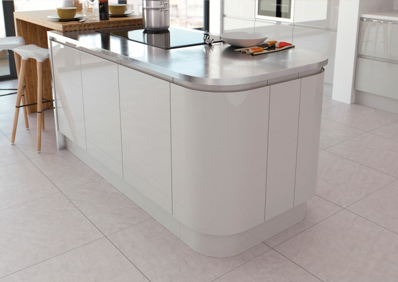 White Kitchen Units With Grey Worktop gloss kitchens archives — kitchenfindr