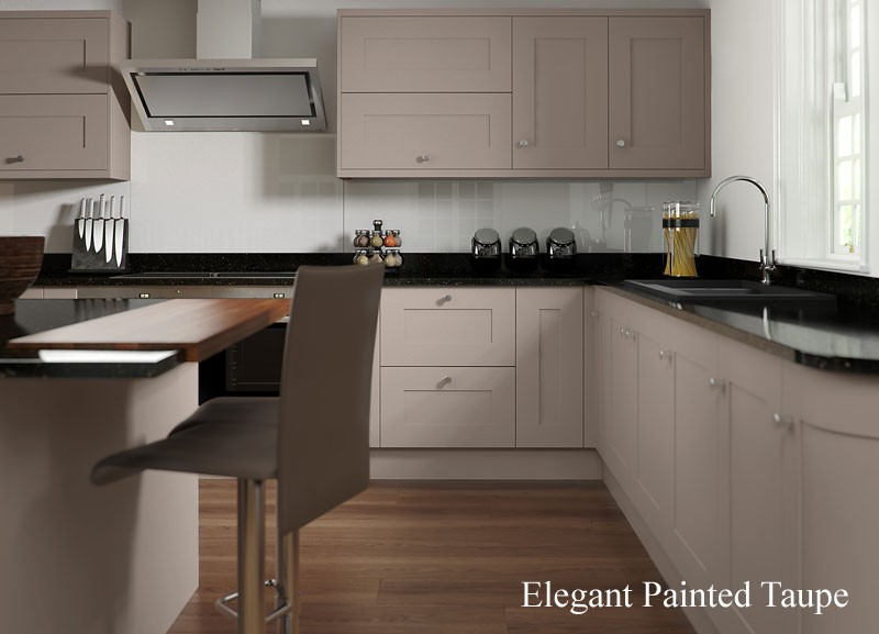 Painted Kitchen Taupe