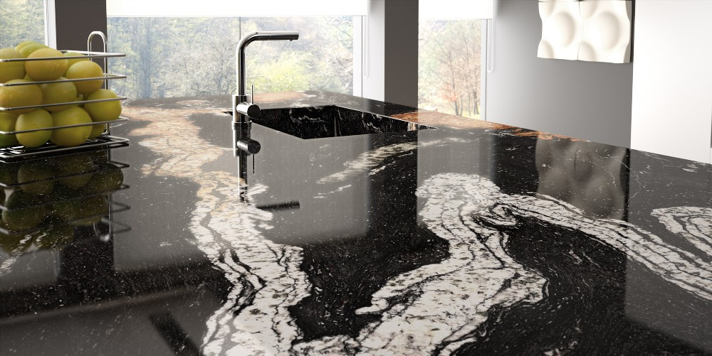 Revolutionary new stain resistant granite worktops launched for Tipos granitos para cocinas