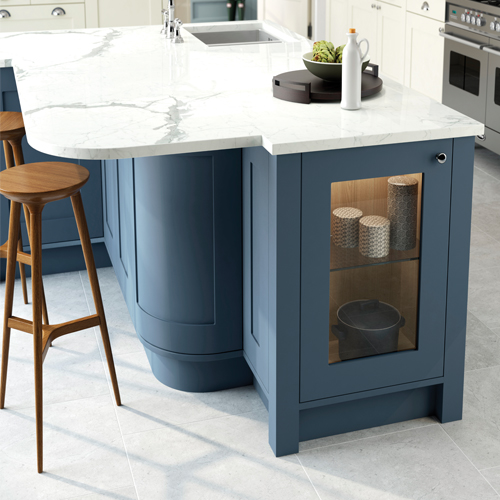 smooth painted shaker kitchen 5