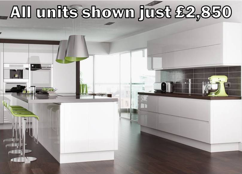 Budget kitchens for less than places like Howdens, Wickes, Magnet & Wren