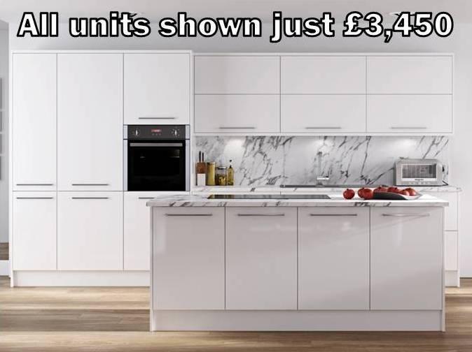 white gloss slab kitchen 50