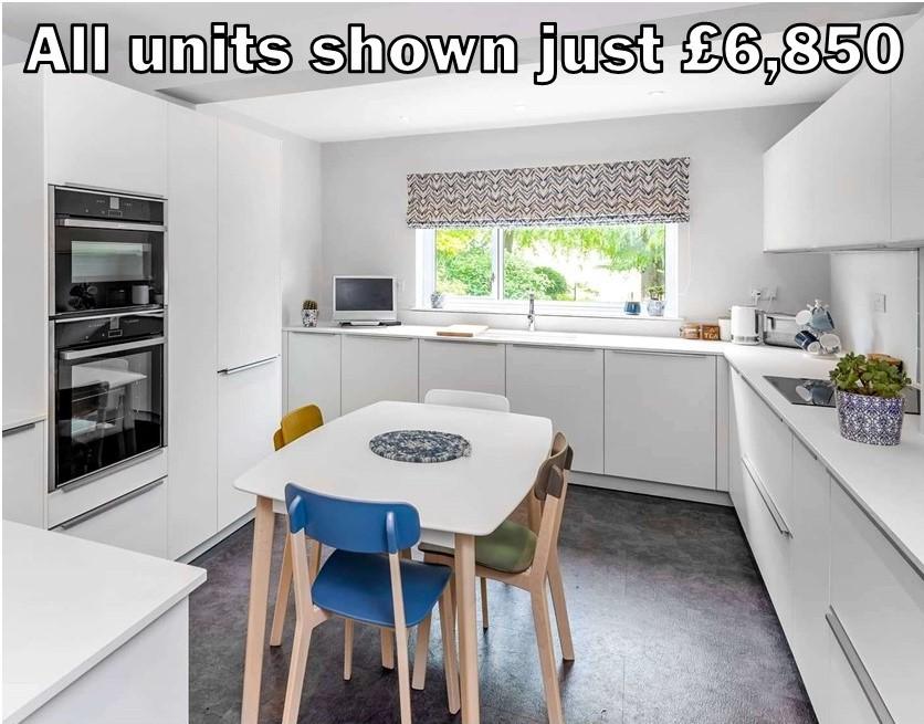 white matt slab kitchen 54