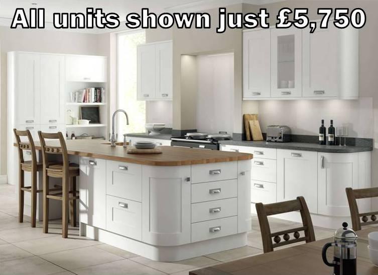 white shaker kitchen 11