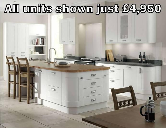 white shaker kitchen 12