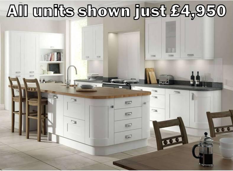 white shaker kitchen 4