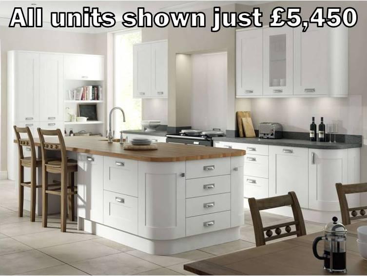 white shaker kitchen 9